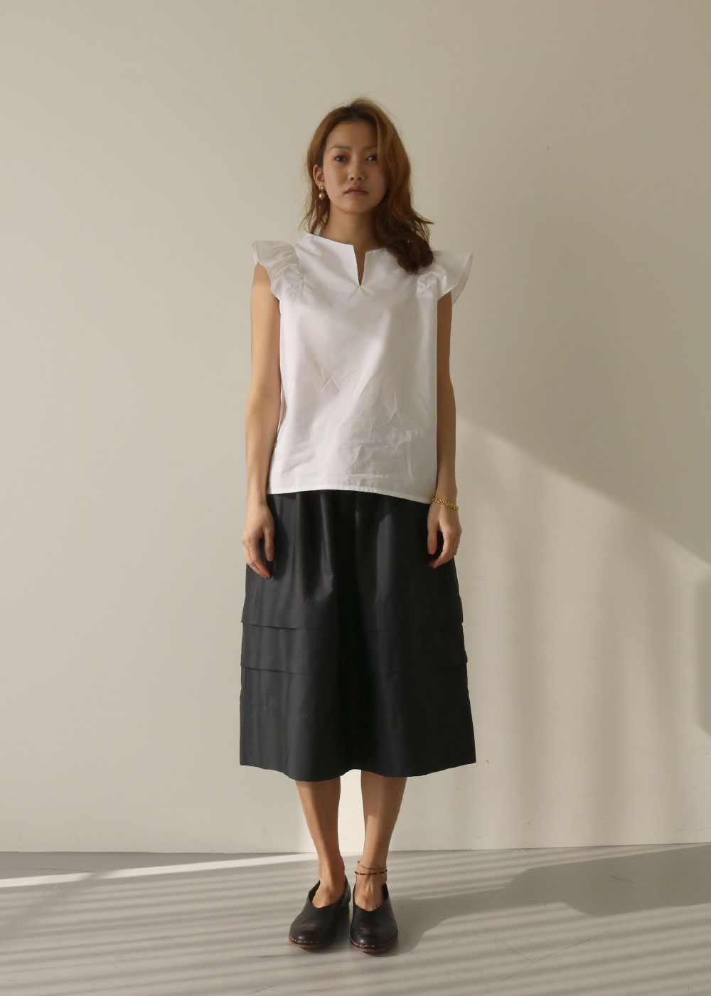 JUPE MINOR SKIRT - black
