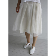 ORGANZA SILK SKIRT