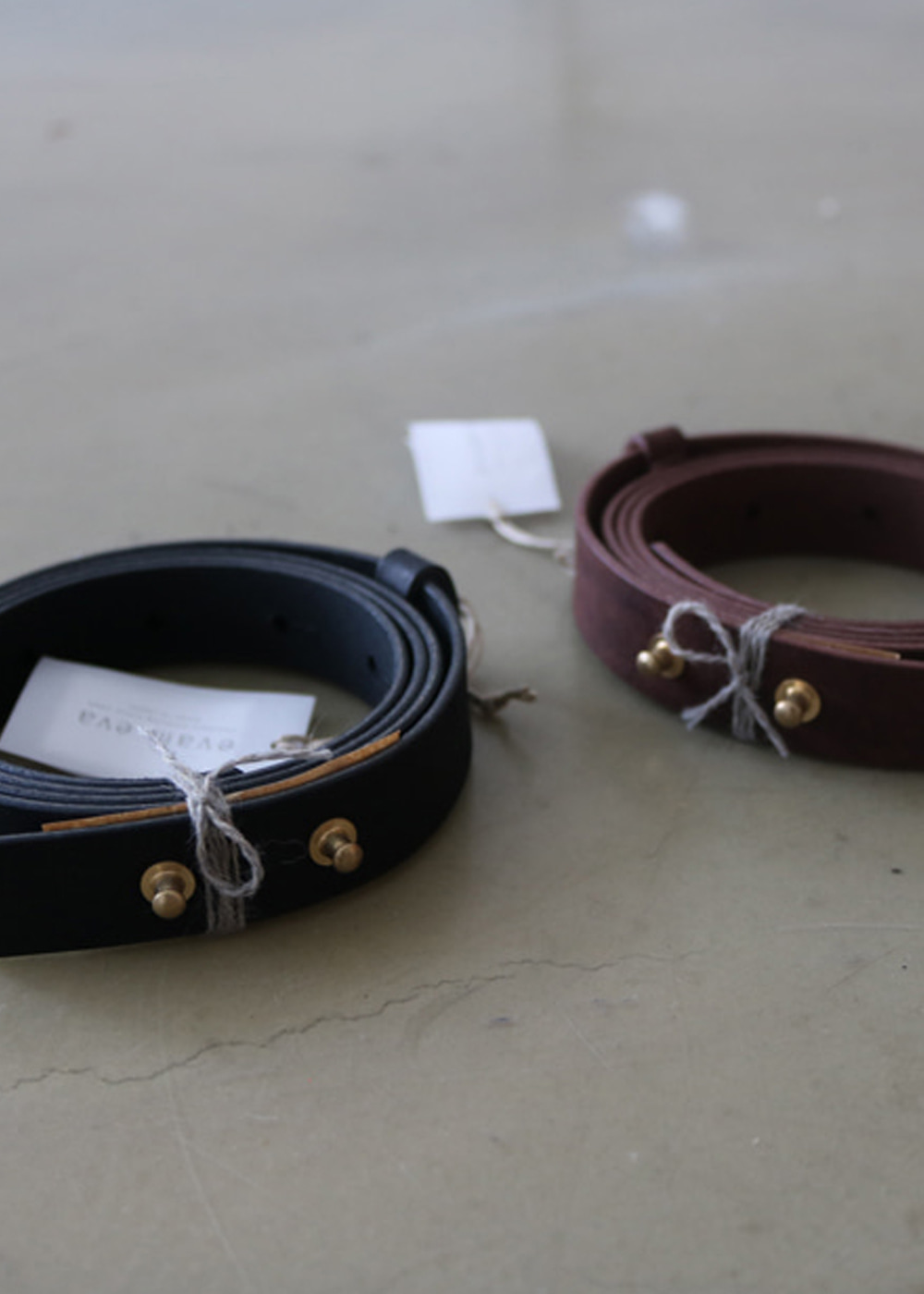 LEATHER BELT - 20mm