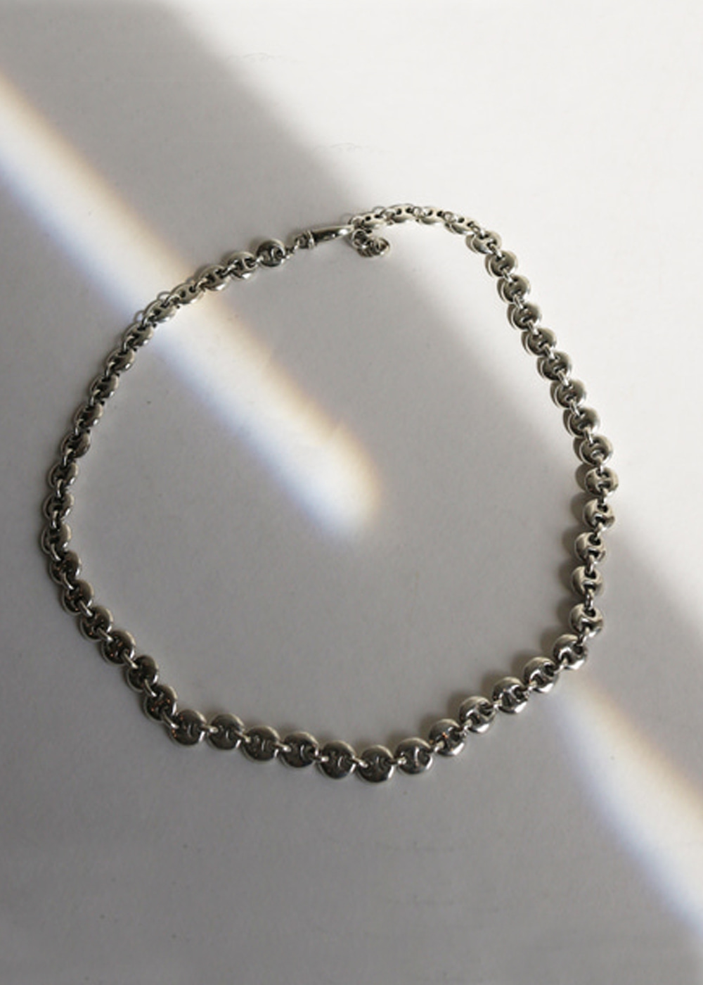 SMALL CIRCLE LINK NECKLACE