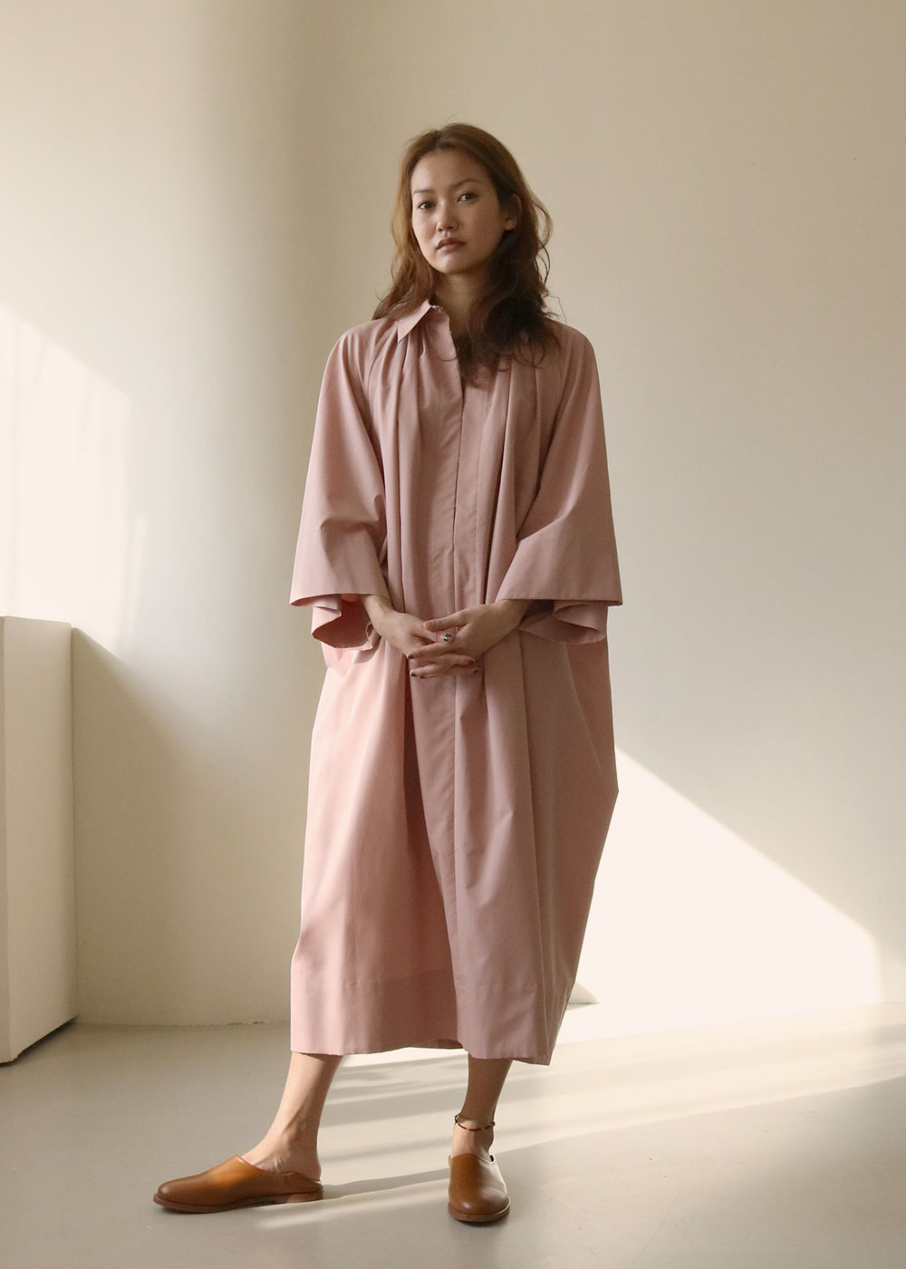PATHANI DRESS - dusty pink