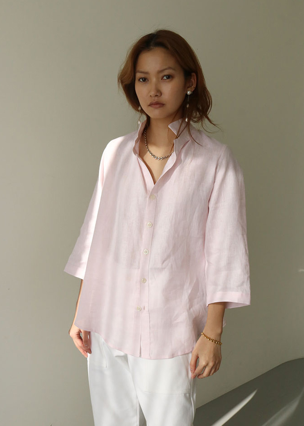 SHIRT MY - light pink