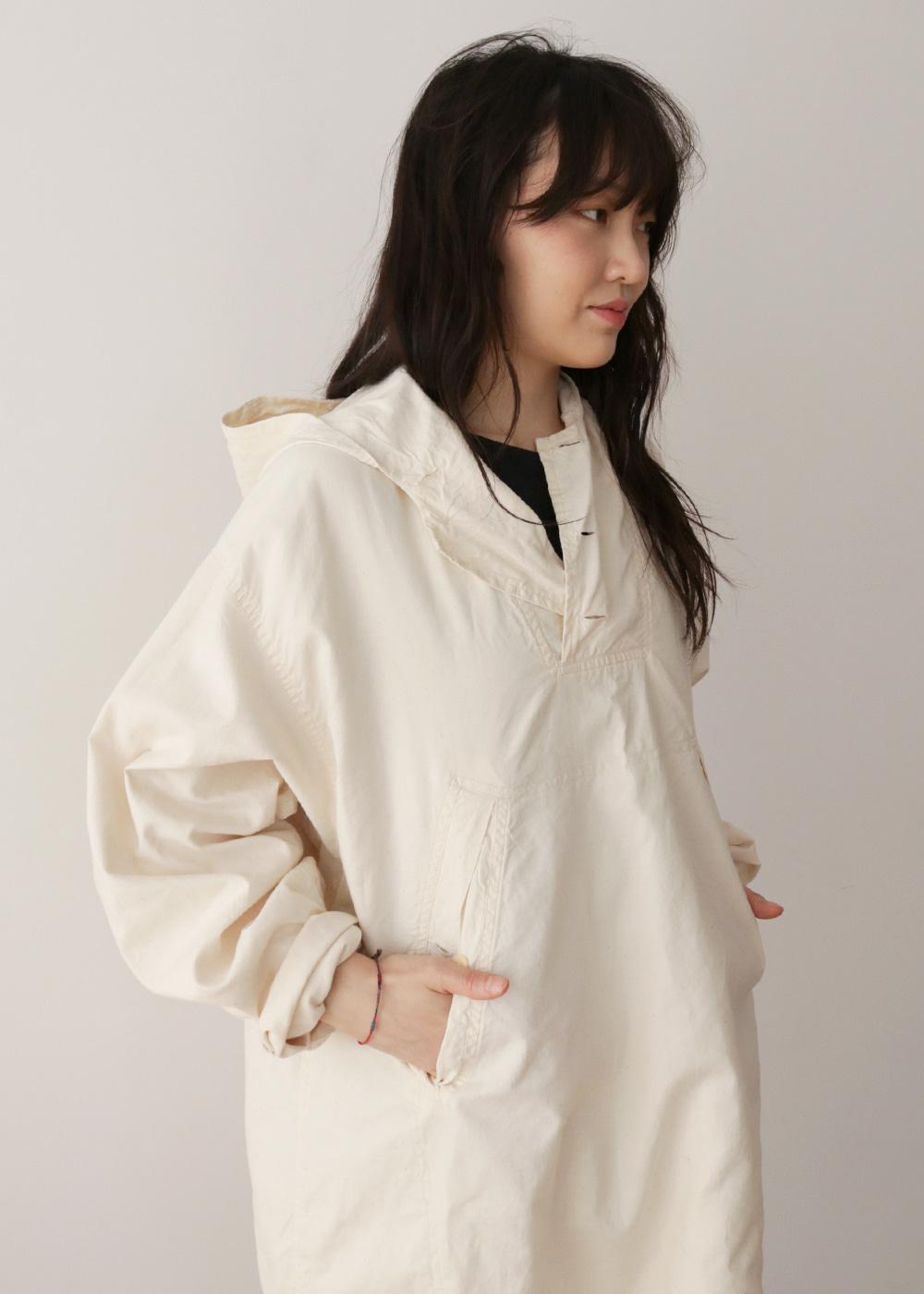 ANORAK NATURAL COTTON
