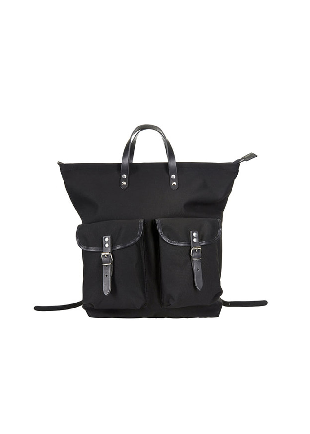 MEDIUM CANVAS RUCKSACK - black