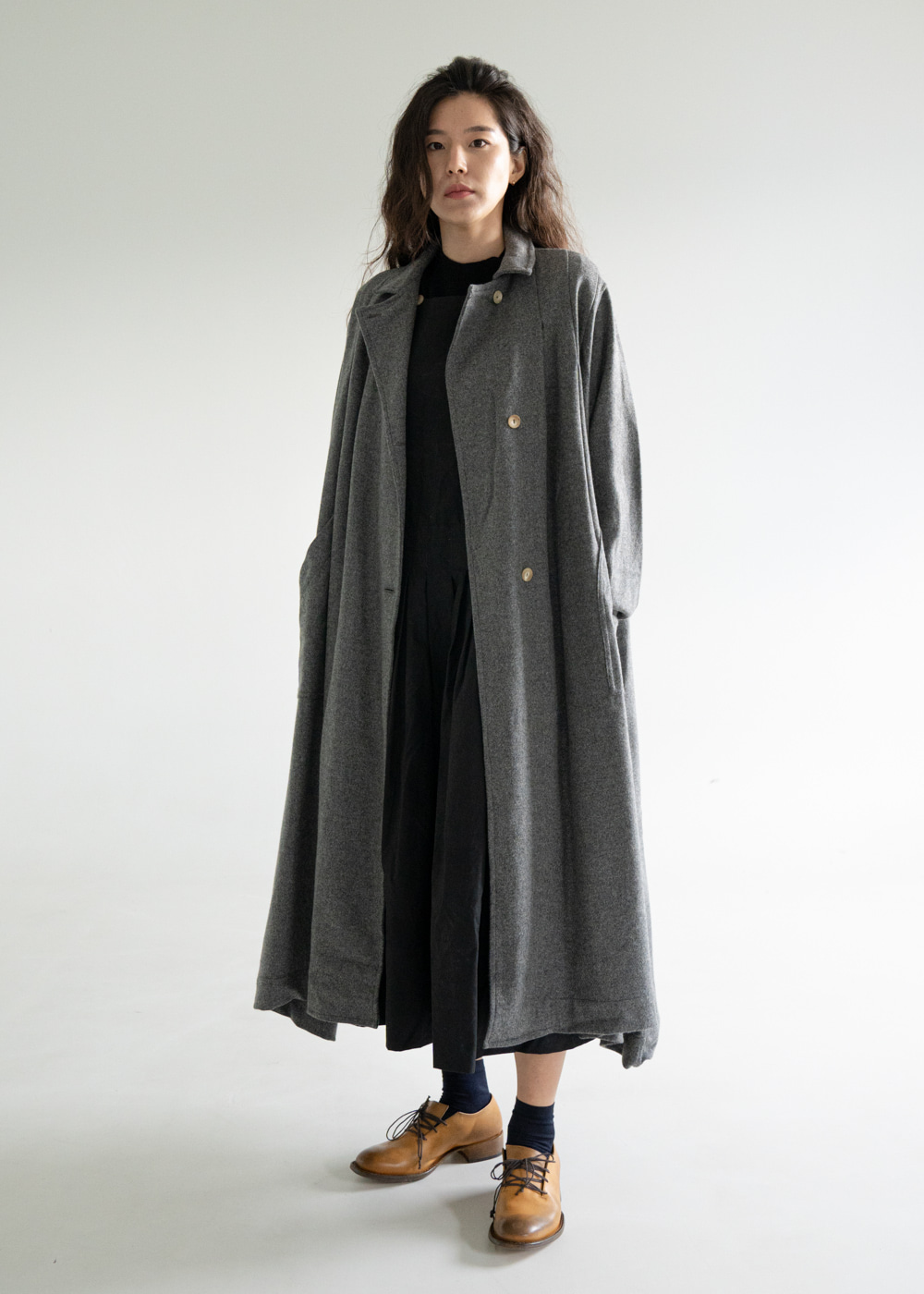 WG OVERSIZE LONG COAT
